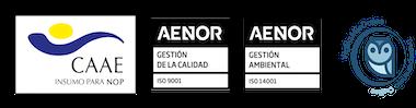 Logotipos CAAE y SHC